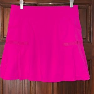 Athleta, medium, Skort. Hot pink
